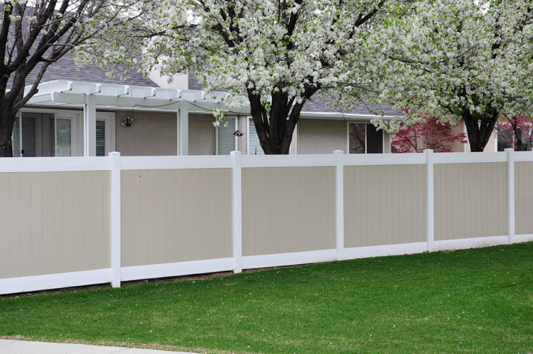 Vinyl Fence Styles Crown Vinyl Fence Inc Utah Vinyl