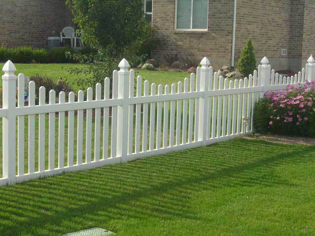 Vinyl fence styles crown inc utah