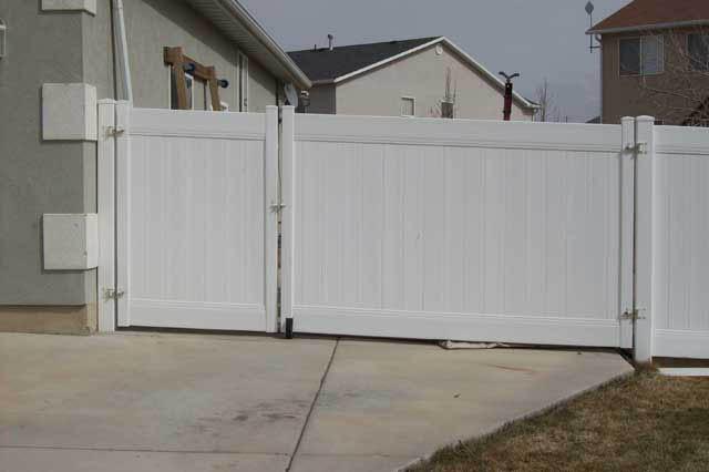 Vinyl Fence Gate Vinyl Gate Crown Vinyl Fence Inc Utah Vinyl Fences Vinyl Fence Experts
