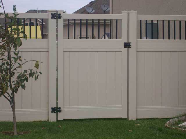 Vinyl Fence Gate Vinyl Gate Crown Vinyl Fence Inc