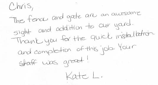 Kate L review