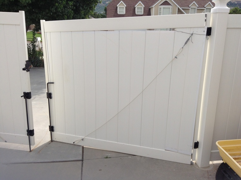 Steel Frame Gates Vinyl Fence Experts