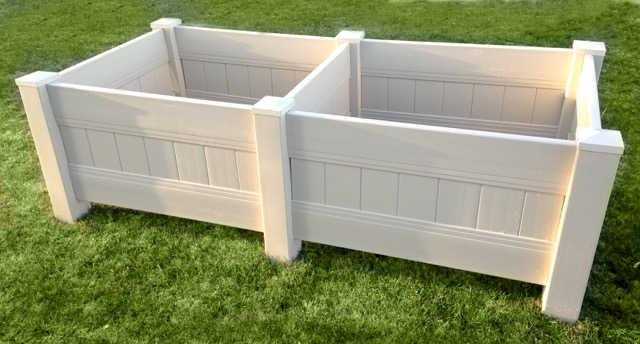 Crown Vinyl Planter box garden box