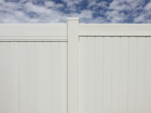 Crown Vinyl high wind fence