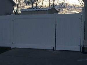crown vinyl double gate clearfield