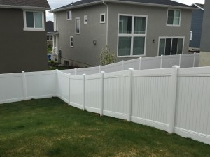 Crown Vinyl high wind fence 2