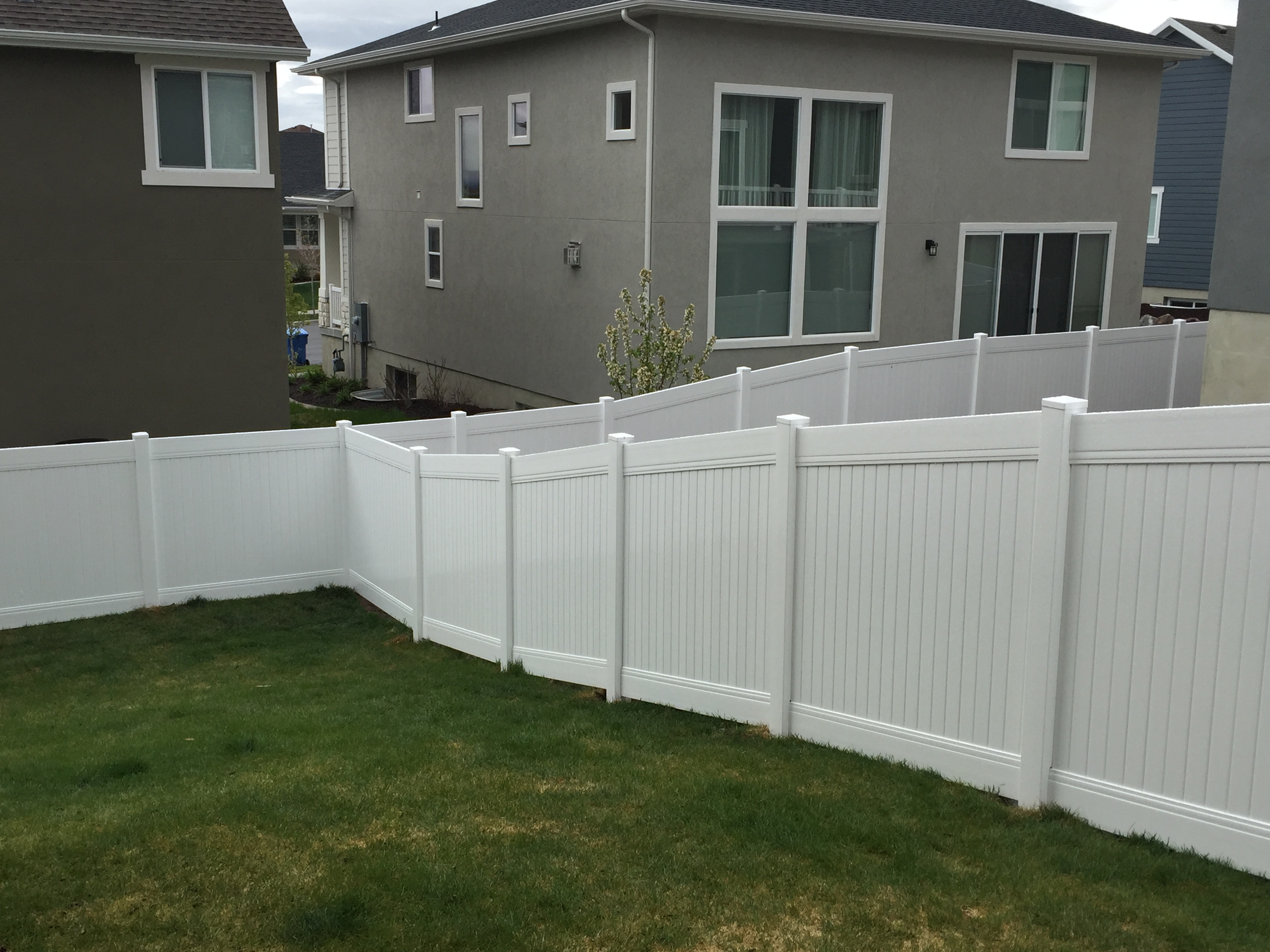 Crown Vinyl Completed Projects High Wind Fencing Vinyl