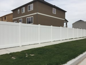 Crown Vinyl high wind fence 5