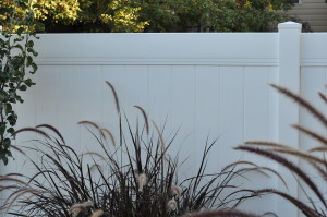 Crown Vinyl high wind vinyl fence