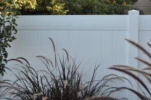 Crown Vinyl high wind vinyl fence