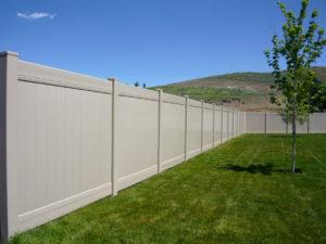 Crown Vinyl privacy fence